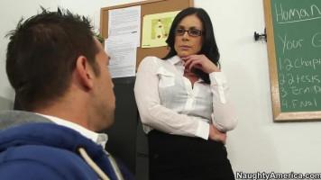 Délutáni korrepetálás a tanárnőmmel