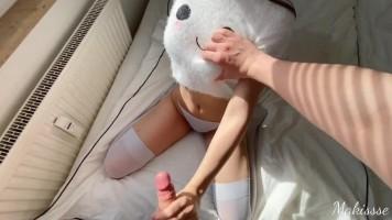 Kihagyhatatlan szexvideó egy cuki főiskolás lánnyal - POV amatőr pornó